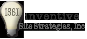 Inventive Site Strategies, Inc Logo | Logo Design | Stacey Sansom Designs