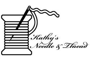 Kathy's Needle & Thread Logo | Logo Design | Stacey Sansom Designs