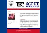 Troop 1927 Scout Fundraising Website Redesign