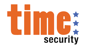 Time Security Logo | Logo Design | Stacey Sansom Designs