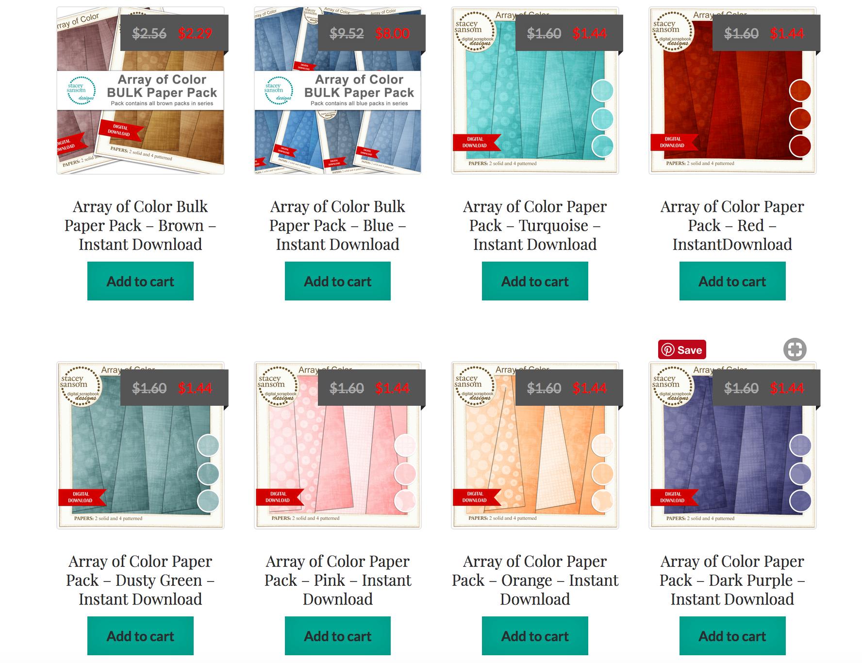 Stacey Sansom Designs Online Store Sneak Peek