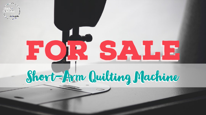 FOR SALE - Short-arm Quilting Machine | Stacey Sansom Designs