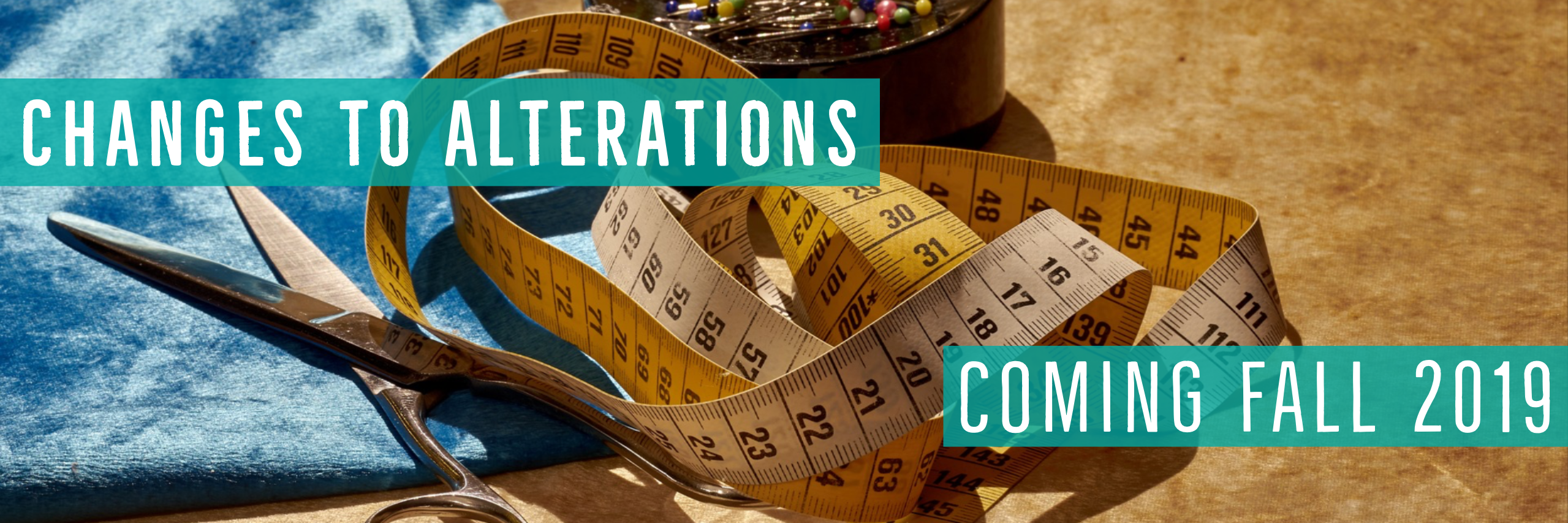 Changes to Alteration Services - Fall 2019 - Stacey Sansom Designs
