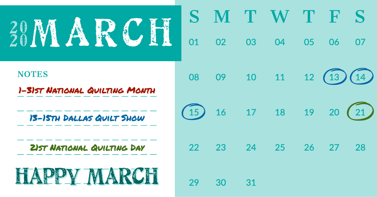Happy March | Stacey Sansom Designs